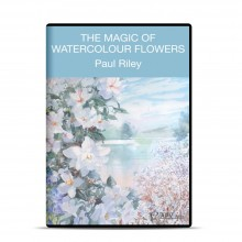 DVD : Magic Of Watercolour Flowers : Paul Riley