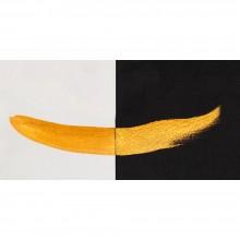 Finetec Coliro : Pearlcolors : Mica Watercolour Paint : 30mm Refill : Inca Gold M620