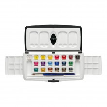 Daler Rowney : Artists' Watercolour Paint : Slider Set : Half Pan : Set Of 20