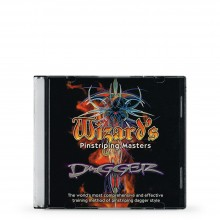 DVD : Wizard's Pinstriping Masters : Dagger
