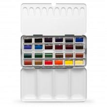 Jackson's : Artist Watercolour Paint : Full Pan : Set of 24