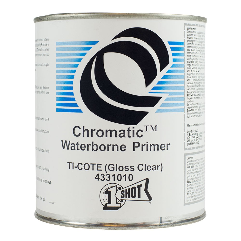 1Shot : Ti-Cote : Clear Primer Barrier Coat : 946ml : Gloss