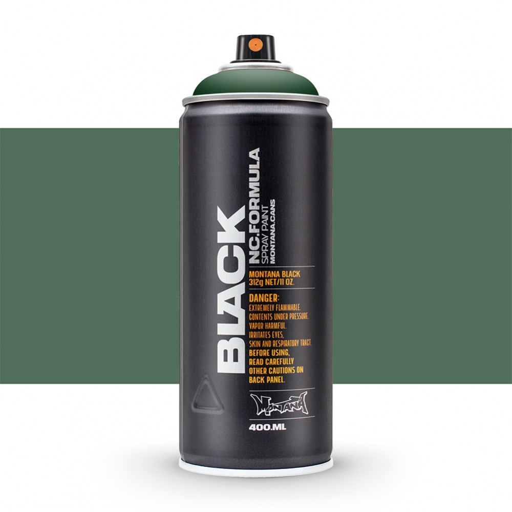 Montana : Black : 400ml : Tag Green : Ship By Road Only