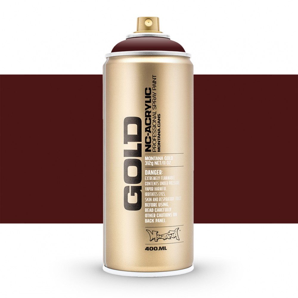 Montana : Gold : 400ml : Chestnut : Opaque : Ship By Road Only