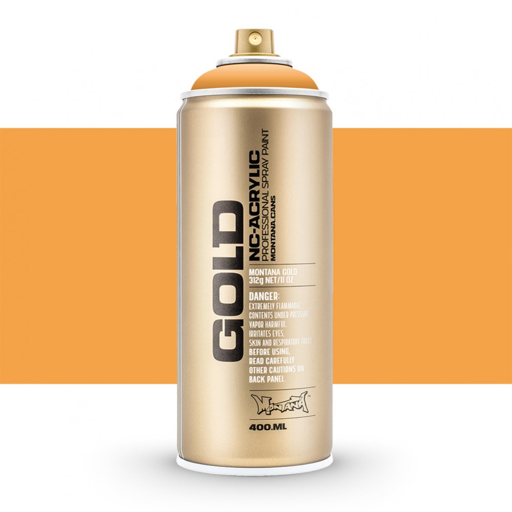 Montana : Gold : 400ml : Blast Orange : Opaque : By Road Parcel Only