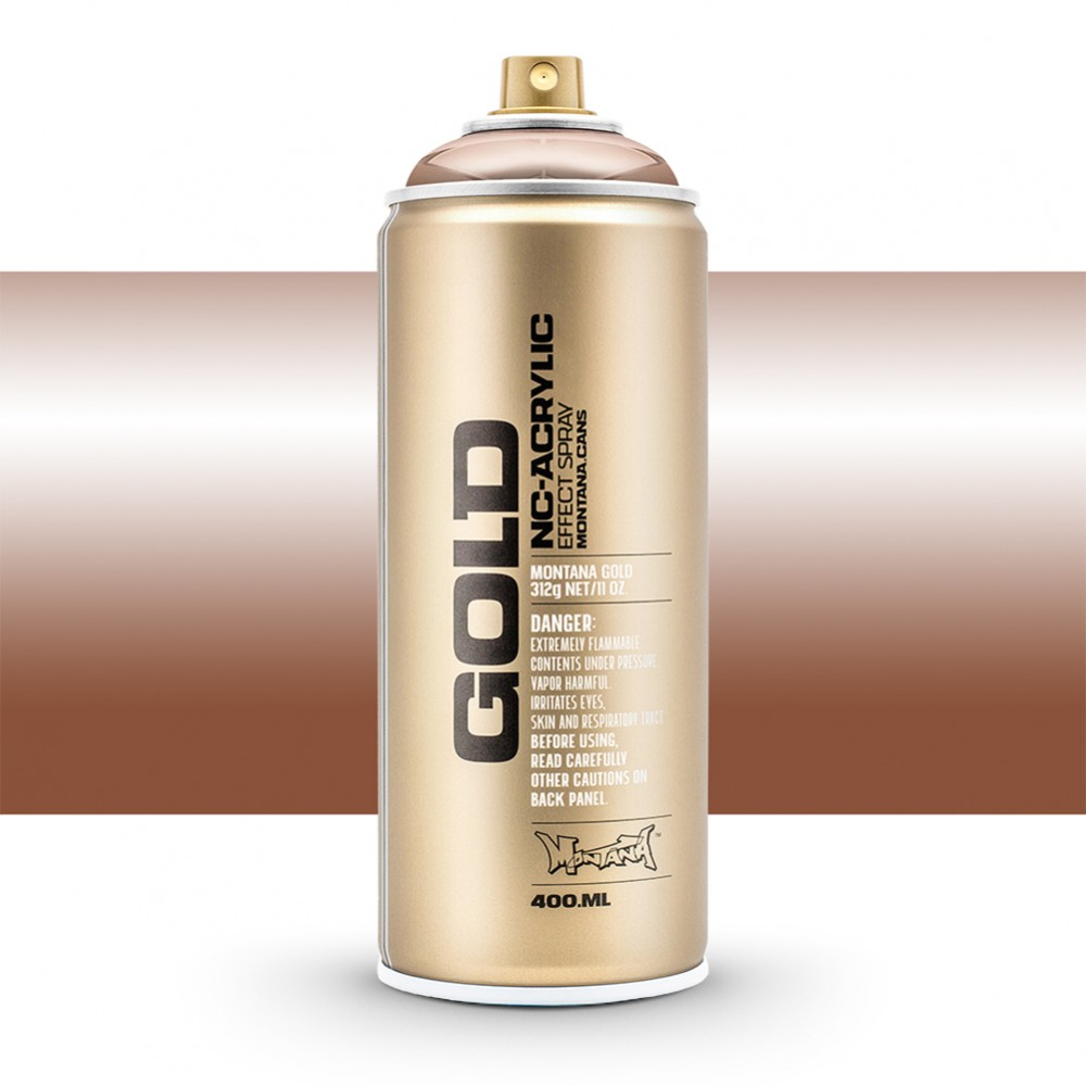 Montana : Gold : 400ml : Copper Chrome : Opaque : By Road Parcel Only