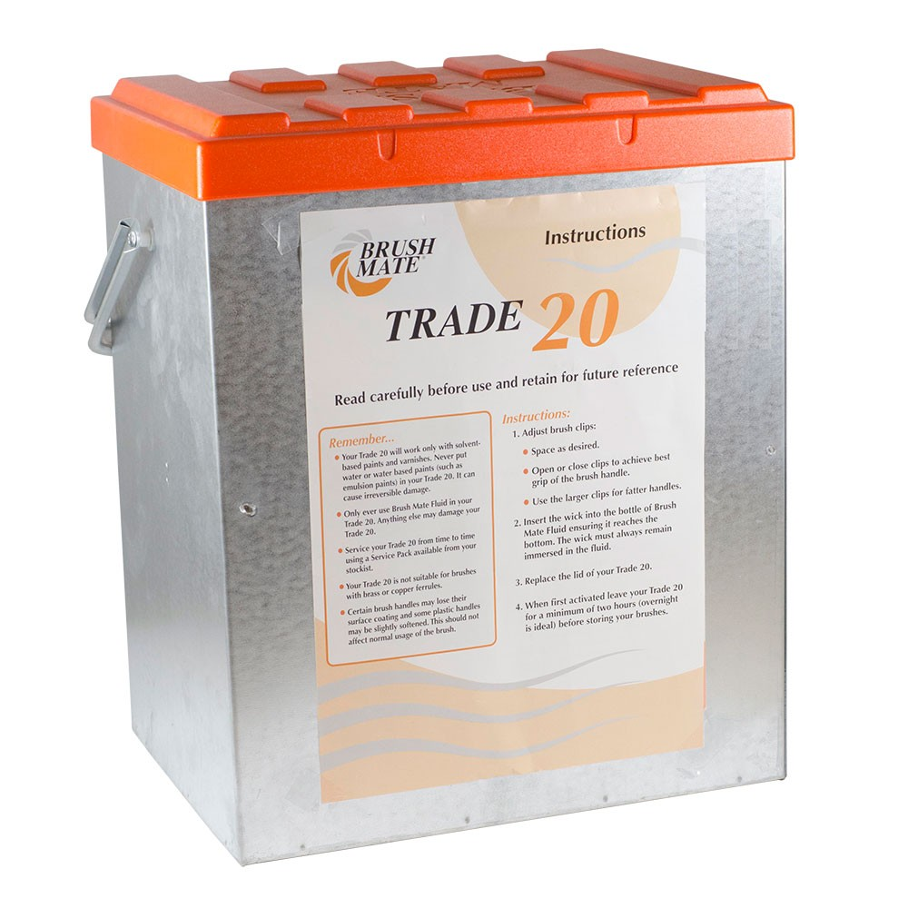 Brushmate : Trade 20 Storage Box : Ship By Road Only