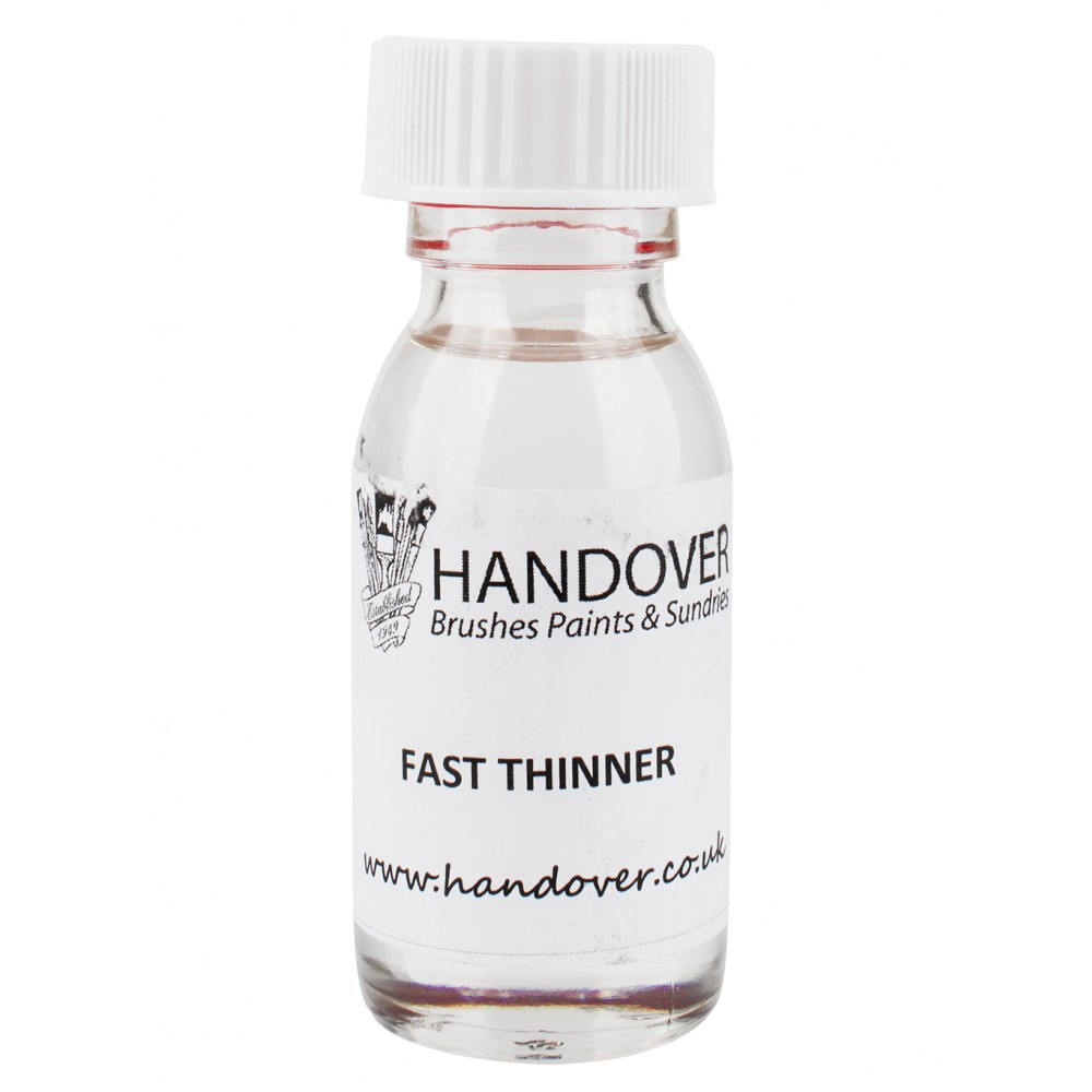 Handover : Glass Paint 60 ml : Fast Thinner : Ship By Road Only