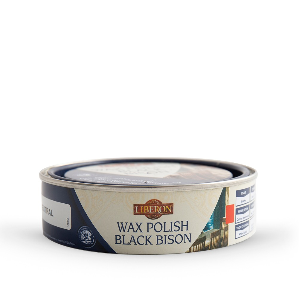 Liberon : Black Bison : Fine Paste Wax : 150ml : Neutral