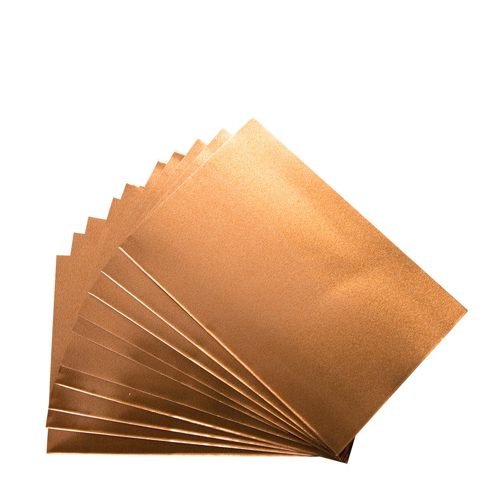 CWR : Aluminium-Copper - Set 12 Sheets 10x15 cm