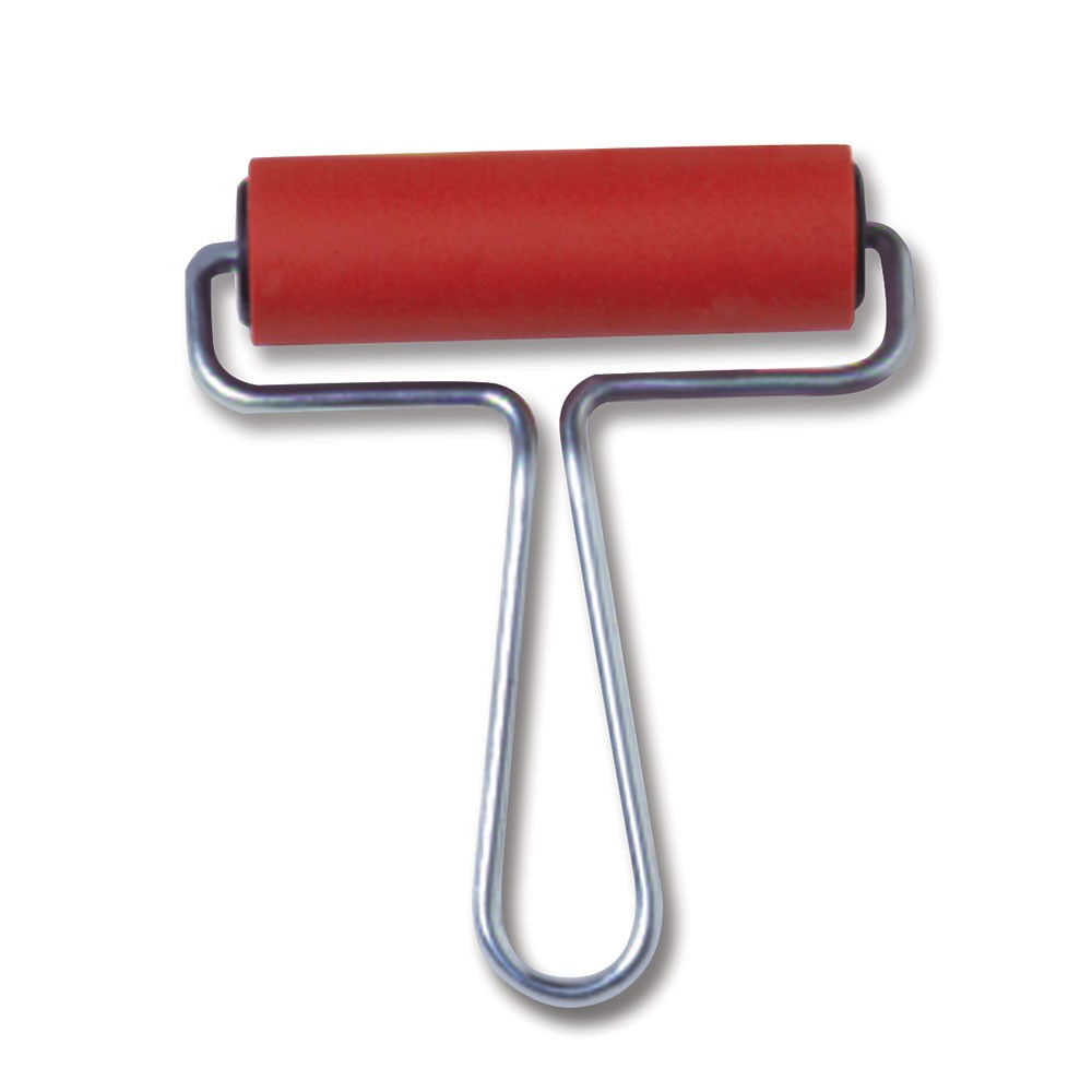 CWR : Rubber Brayer 10cm wide 30mm Diameter Roller