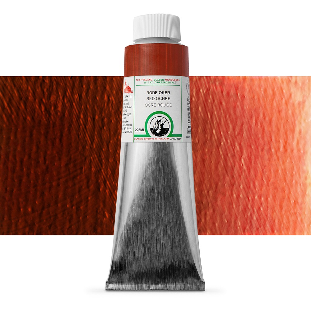 Old Holland : Classic Oil Paint : 225ml : Red Ochre