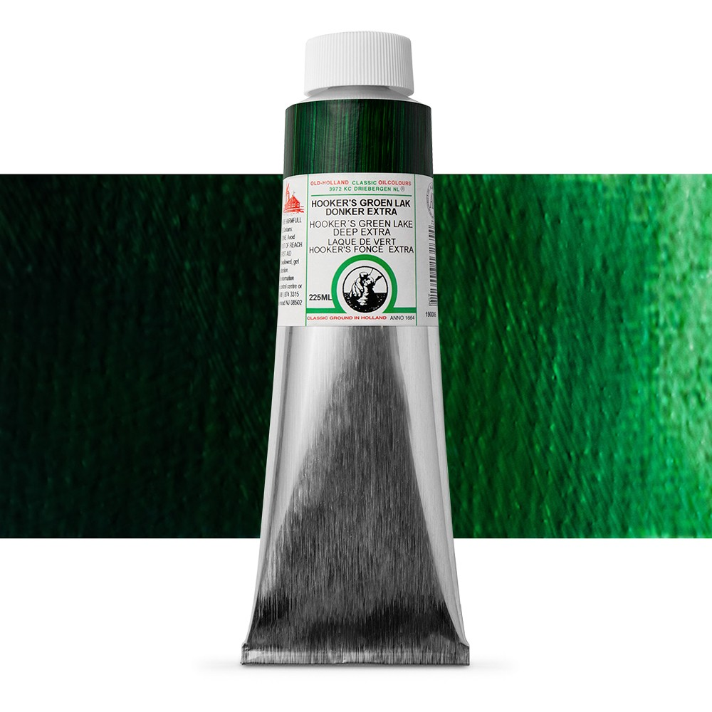 Old Holland : Classic Oil Paint : 225ml : Hookers Green Lake Deep