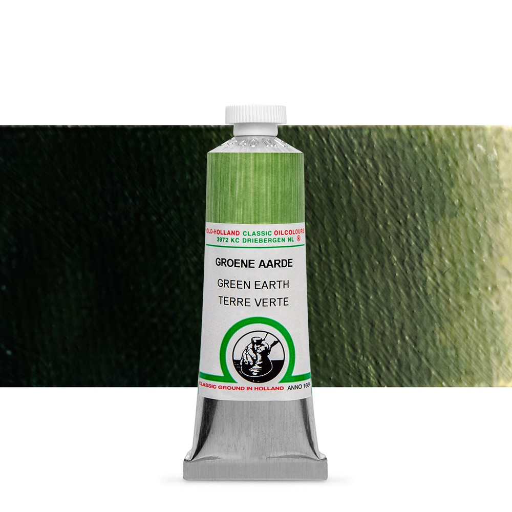 Old Holland : Classic Oil Paint : 40ml : Green Earth