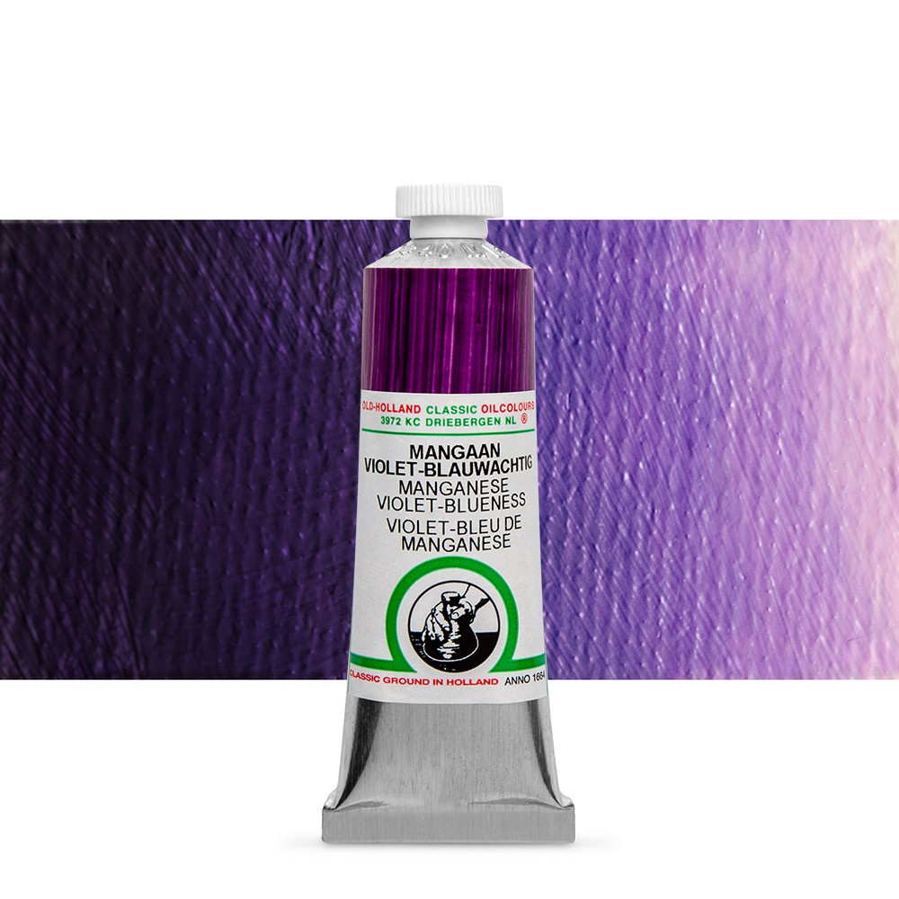 Old Holland : Classic Oil Paint : 40ml : Manganese Violet Blueness
