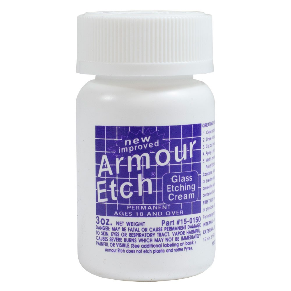 Armour Etch : Glass Etching Cream : Bottles