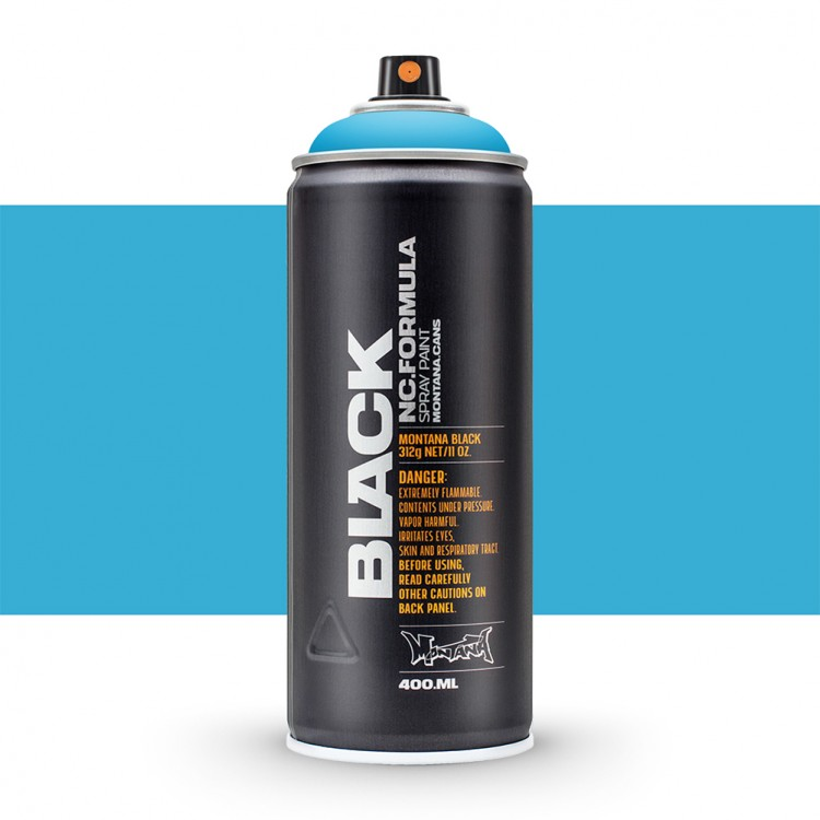 Montana : Black : 400ml : Light Blue : By Road Parcel Only