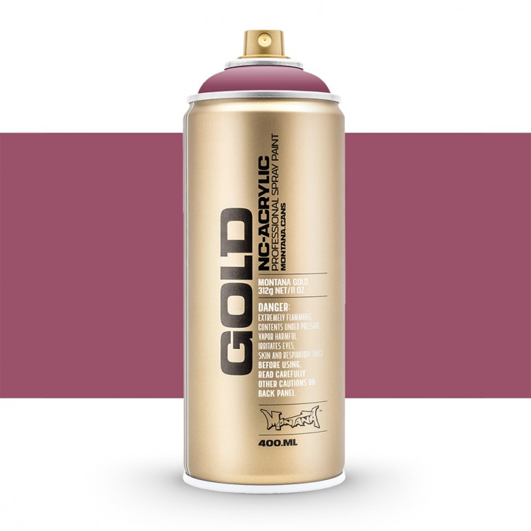 Montana : Gold : 400ml : Dusty Pink : Opaque : Ship By Road Only