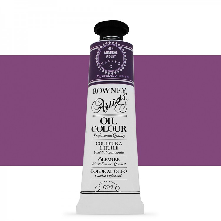 Daler Rowney : Artists' Oil Paint : 38ml : Mineral Violet