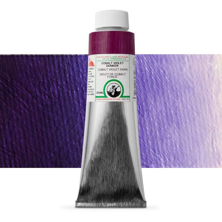 Old Holland : Classic Oil Paint : 225ml : Cobalt Violet Dark