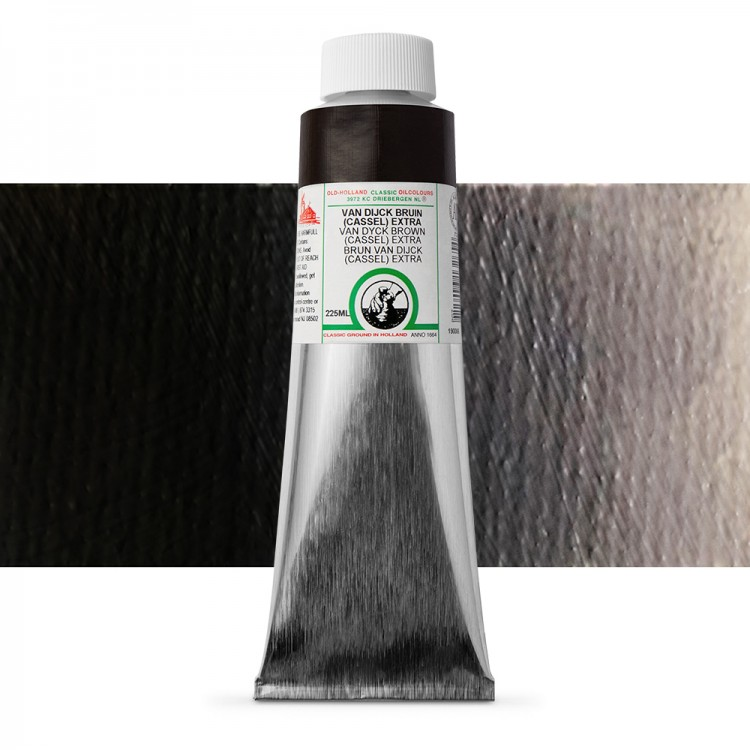 Old Holland : Classic Oil Paint : 225ml : Van Dyck Brown (Cassel) Ext