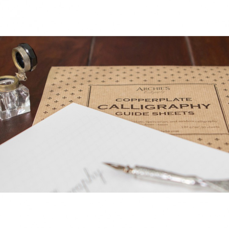 Archie's Calligraphy : Paper