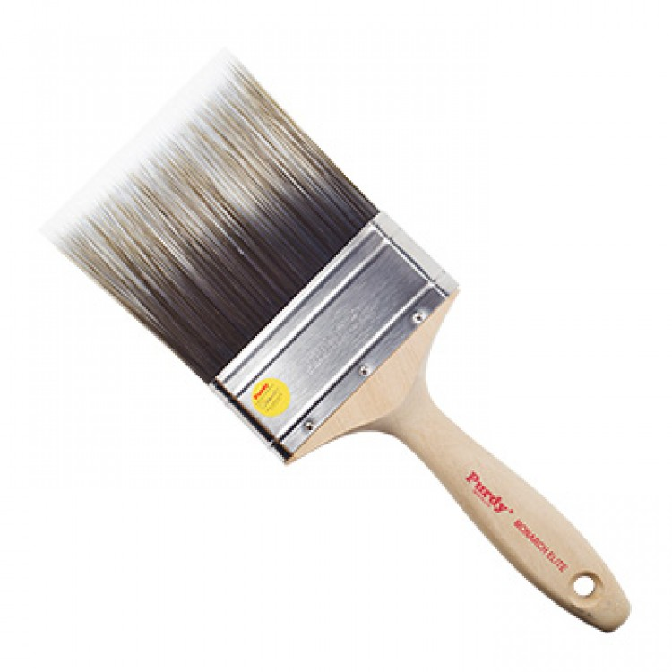 Purdy : Monarch Elite : Synthetic Flat Decorating Brush : 4 inch