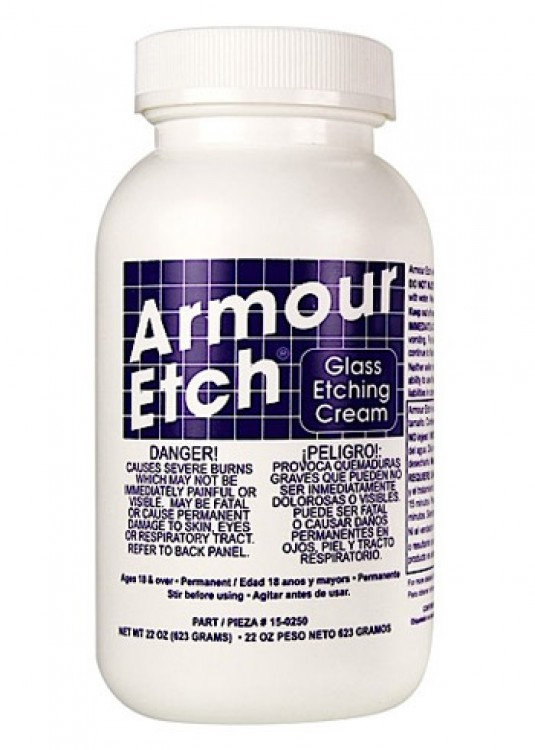 Armour Etch : Glass Etching Cream : 22oz/623g : By Road Parcel Only