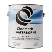 1Shot : UV Resistant Waterborne Clear Topcoat : 3786ml : Gloss : Ship By Road Only