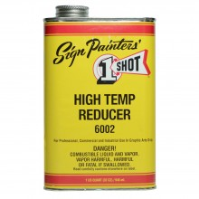 One Shot High Temperature Reducer 946ml : By Road Parcel Only