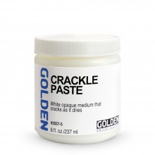 Golden : Crackle Paste : 236ml