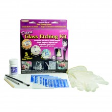Armour Etch : Glass Etching Cream : Deluxe Glass Etching Kit : Ship By Road Only