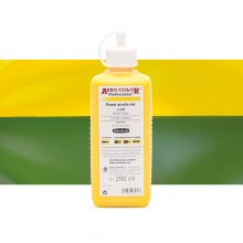 Schmincke : Aero Color Finest Acrylic Ink : 250ml : Primary Yellow