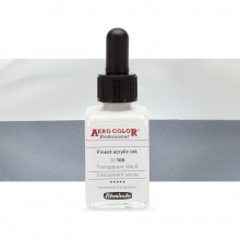 Schmincke : Aero Color Finest Acrylic Ink : 28ml : Transparent White
