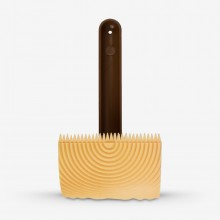 Handover : Graining Rocker & Handle : 3 in with 1 Ridged and 1 Comb Toothed Edge