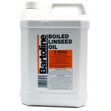 Bartoline : Boiled Linseed Oil : 5 litre