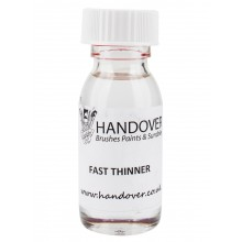 Handover : Glass Paint 60 ml : Fast Thinner : By Road Parcel Only