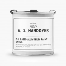 Handover : Oil Based Aluminium Paint : 250ml