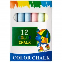 Handover : Multi Coloured Chalk : Pack of 12