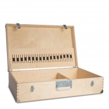 Handover : Large Wooden Kit Box : 60x18x40cm