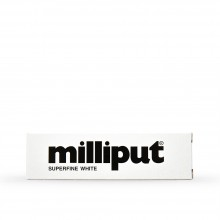 Milliput : Epoxy Resin : 113.4g : Superfine White : Versatile Putty Can Be Sculpted