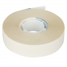 White Acid Free Adhesive Tape : Double Sided : 19mm x 30m