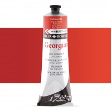 Daler Rowney : Georgian Oil Paint : 225ml : Cadmium Red Hue