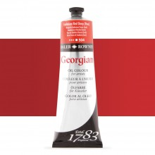 Daler Rowney : Georgian Oil Paint : 225ml : Cadmium Red Deep Hue