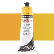 Daler Rowney : Georgian Oil Paint : 225ml : Cadmium Yellow Deep Hue