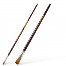 Handover : Series K : Long Handled Synthetic Sable Brushes