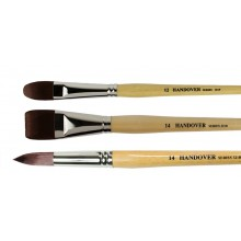 Handover : Red/Brown Teijin Synthetic Bristle Brushes : Series 321B / 321F / 321R