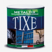 Tixe : Gold and Silver : Oil Based Paint
