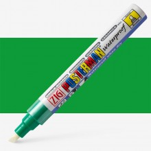 Kuretake : Zig : Posterman Chalk Board Marker : Broad (6mm Nib) : Green