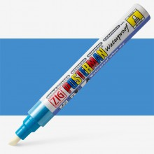 Kuretake : Zig : Posterman Chalk Board Marker : Broad (6mm Nib) : Light Blue